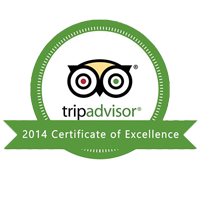 Trip Advisor certificate of excellency3